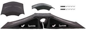 Rampe Set Skaterrampe Doppelrampe BMX Skateboard MTB Skates Inliner Board NEU