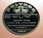 """Franz Völker - La Donna e mobile / Questa o quella """"Rigoletto"""" (Verdi) (1126)"""