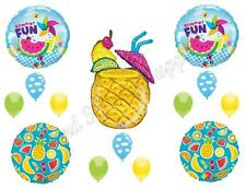 PINEAPPLE SUMMER DRINK Birthday Party Balloons Decoration Supplies Luau BBQ Pool