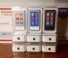 Apple iPod nano 16gb Space Gray, Blue & Gold ~ New w/ Apple Warranty