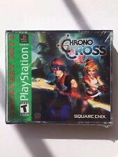 NEW SEALED Chrono Cross Ps1 Psx PlayStation 1 Chrono Trigger Sequel!