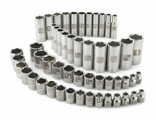 Craftsman 52 PC Socket Set 6 pt Standard Deep Metric MM Standard SAE 3/8 drive