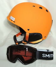 Smith Optics Holt Ski Helmet-Adult/L W/Smith Scope Anti-fog Inner Lens Goggles