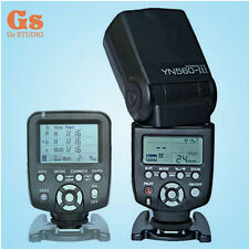 Yongnuo YN-560III Flash Speedlite + YN560-TX Manual Flash Controller for Nikon