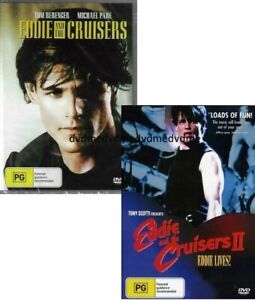 Eddie and the Cruisers 1 & 2 DVD New and Sealed Australian Release
