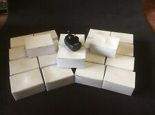 Job Lot Of 20 USB Plug Charger, UK Socket, Phone Charger, iPhone, Samsung Mobile