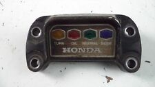 1972 HONDA CB 350 DASHBOARD INDICATOR LIGHTS OEM CB350 72