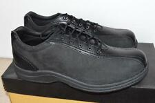 P.W.MINOR Central Park Black Orthopedic Work Safety Shoes Size 9 M
