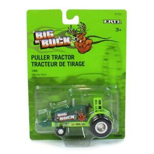 1/64 Big Buck Green and Yellow Die-Cast Pulling Tractor 47231