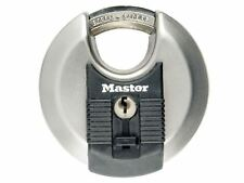 Master Lock - Excell Stainless Steel Discus 70mm Padlock