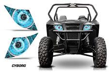 AMR Racing Arctic Cat Trail/Sport UTV Headlight Graphics Eye Sticker Decals CY U