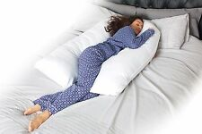 9 Ft Comfort U Pillow Body Back Support Maternity Pregnancy Nursing Extra Fill