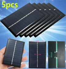 5pcs 6V 0.6W 100mAh Mini Solar Panel Module DIY For Cell Phone DC Charger Toy