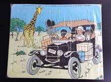 Puzzle Tintin Lombard 1985  TRES BON ETAT