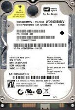 Western Digital WD6400BMVV-11A1CS0 USB 2.0 640GB DCM: HACVJABB WX50A