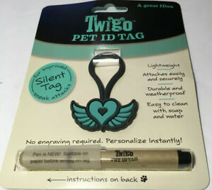 Twigo Pet ID Tags Mom Tag for Dogs and Cats