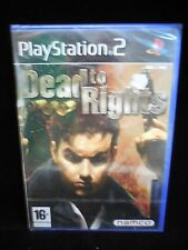 Dead to Rights nuevo y precintado para playstation 2