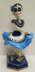 """KC ROYALS """"Day of The Dead"""" Bobblehead SGA 9/17/21 Theme Ticket Required, MIB"""