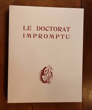 1946 Andréa de Nerciat Paul-Emile Bécat Doctorat impromptu Ex. HC avec suites