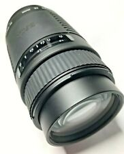 Sigma 75-300mm F4-5.6 Zoom Lens, Sigma AF Bayonet, Good Condition