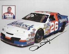 "SIGNED 1996 DERRIKE COPE ""BADCOCK FURNISHING NO LOGO"" #26 NASCAR BUSCH POSTCARD"