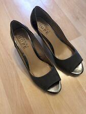 Joanna Hope Sandal Heel Peep Toe Size 7 E