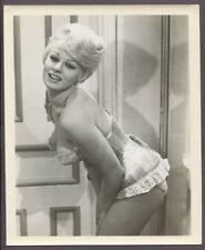 Stripper Prostitute 1950 Original Photo 8x10 Burlesque Busty Big Boobs J6634