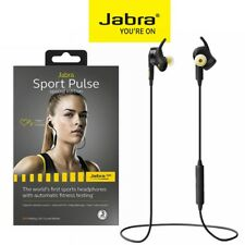 Bluetooth Earbuds 4.0 JABRA Sport Pulse Wireless Stereo Headset Headphone iPhone