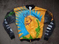 Vtg 1996 90s SEATTLE TO PORTLAND Bright CYCLING JACKET Windbreaker Bike Coat XL