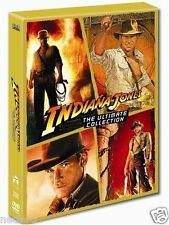 """INDIANA JONES COMPLETE MOVIE COLLECTION 5 DISC DVD BOX SET """"NEW&SEALED"""""""
