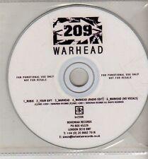 (CJ270) 209, Warhead - 2005 DJ CD