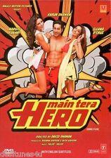 MAIN TERA HERO - OFFICIAL UK BOLLYWOOD DVD - FREE POST