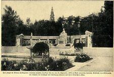 Wiener Volksgarten * Denkmal für die 1898 ermordete Kaiserin Elisabeth *  1907