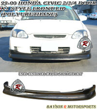K1 Drift CS Style Front Lip (Urethane) Fits 99-00 Honda Civic