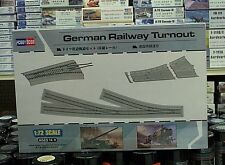 Hobby Boss 1/72 German Railway Turnout  Train Track Set 82909