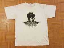 Immortal Technique Rare Open Your Eyes Before You Die Hip-Hop T- Shirt Size L