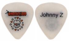 WHITESTARR Guitar Pick : 2007 Tour Johnny Z Rare