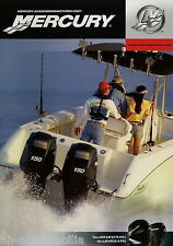 Mercury Aussenbordmotoren Prospekt 2007 Marine Verado Four Stroke Smart Craft