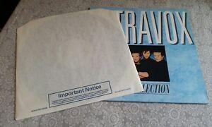 """Ultravox The Collection UK Press Vinyl 12"""" LP 1984 Midge Ure ~ excellent copy"""