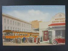 Sacramento Valley Limited Northern Electric Railroad CA Antique Postcard c1915