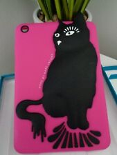 Marc by Marc Jacobs Pink Black Cat iPad Mini Tablet Protective Case Cover