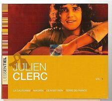 JULIEN CLERC l'essentiel CD ALBUM digipack la californie ce n'est rien niagara
