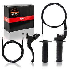 """7/8"""" Baja Mini Bike Clutch Lever Brake Throttle Cable Handlebar Grip 50 - 250cc"""