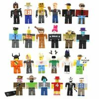 24pcs Roblox Legends Champions Classic Noob Captain Action Figures Kids Gift 8cm