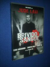 cofanetto+dvd nuovo film BRIVIDO DI SANGUE- CON: ELINA LOWENSHON Jude Law