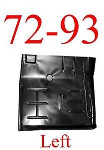 72 93 LEFT Dodge Floor Pan, Panel, Regular Cab & Club Cab Truck, NIB, 1580-221