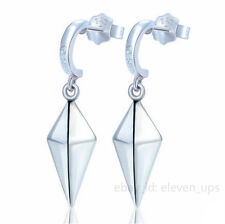 1 Pair Silver Earrings Eardrop Pendant Erza Scarlet Lucy Fairy Tail Cosplay New