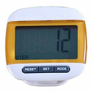 FormVan LCD Pedometer For Walking Clip On Portable Step Counter For Steps Miles