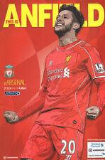 Liverpool v Arsenal 21 DEC 2014 KICKOFF 4.00PM