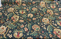 Waverly Imperial Dress Noir Onyx Drapery Upholstery Fabric By the Yard